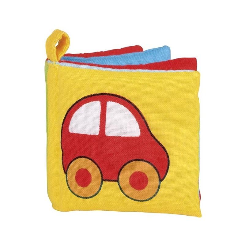 Livre d`images en tissu avec couineur à prix de gros - livre pour enfants à prix grossiste