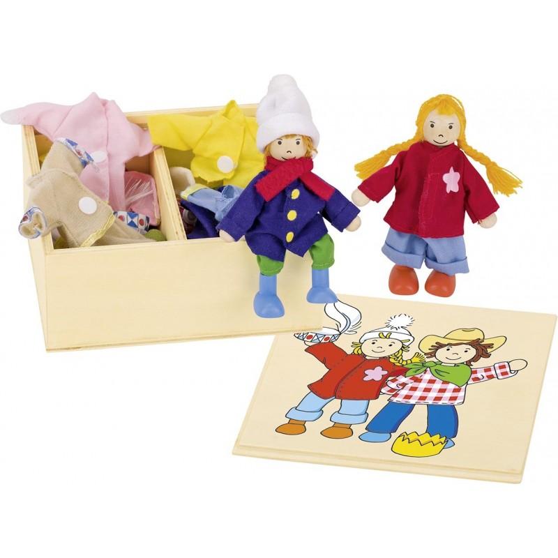 Birte Ben, boîte de vêtements - accessoires de poupées à prix de gros