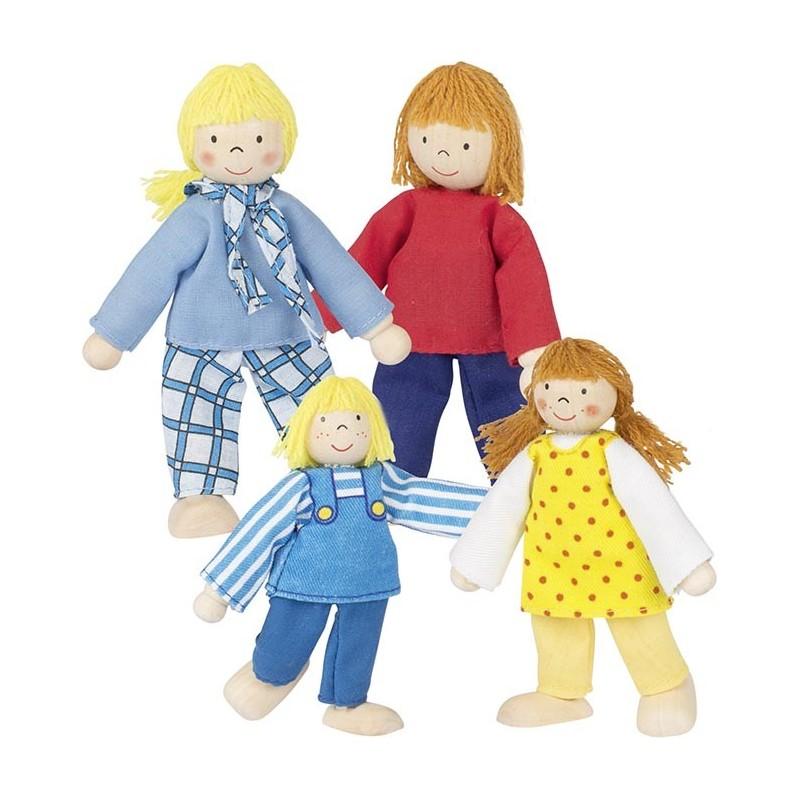 Famille moderne, poupées articulées à prix de gros - poupée à prix grossiste