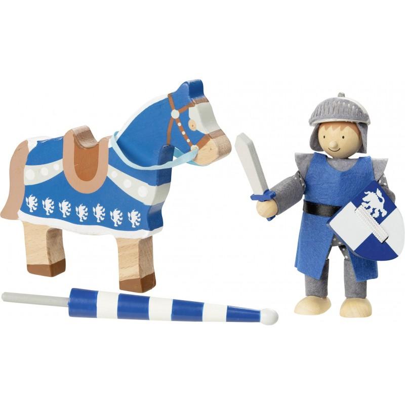Poupée flexible, chevalier Lancelod avec cheval à prix grossiste - poupée à prix de gros