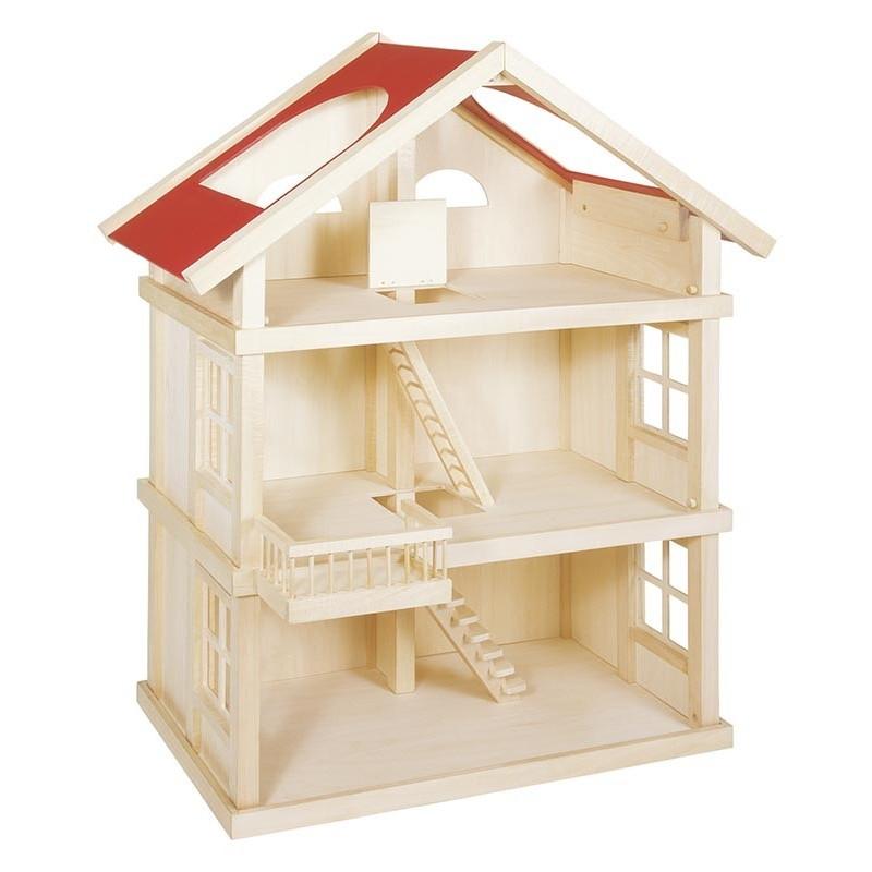 Maison de poupées 3 niveaux - maison de poupée à prix de gros