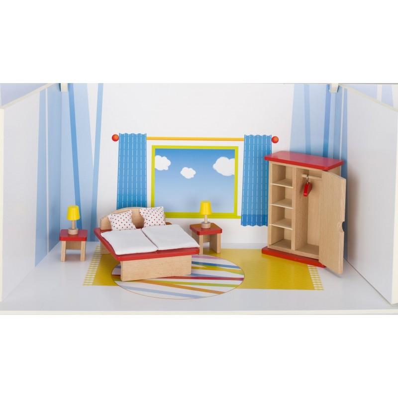 Meubles de poupées Chambre, goki basic. - accessoires de poupées à prix grossiste