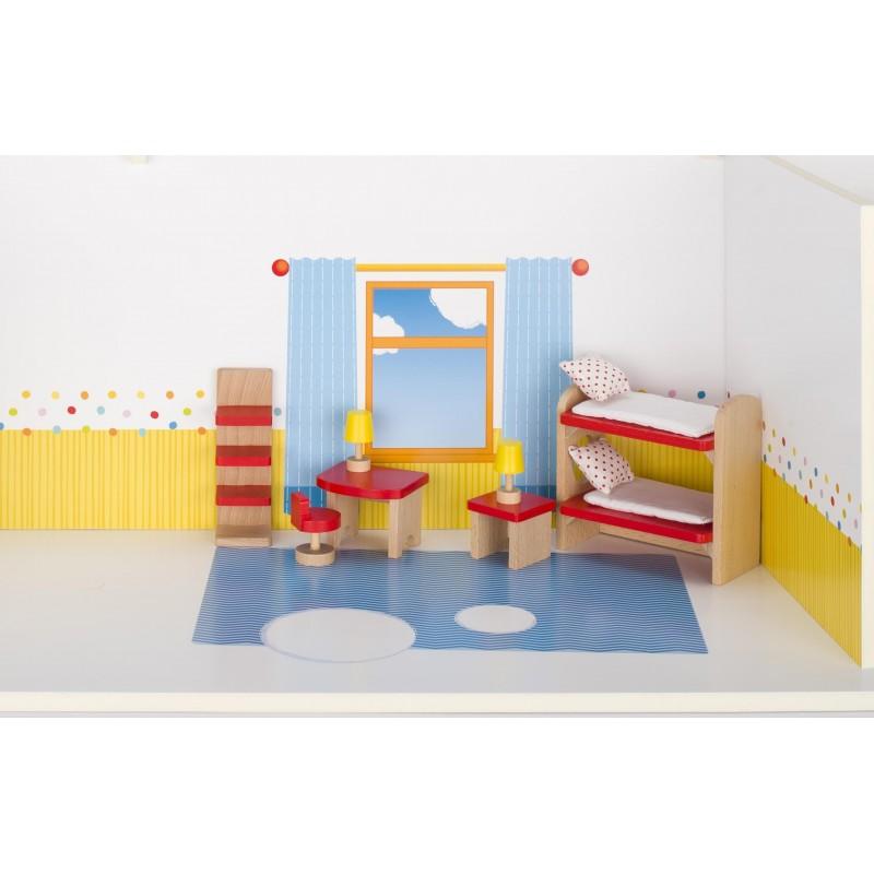 Meubles de poupées Chambre des enfants, goki basic. - accessoires de poupées à prix grossiste