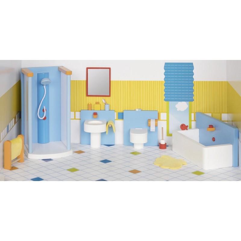 Meubles de poupées, salle de bain à prix de gros - accessoires de poupées à prix grossiste