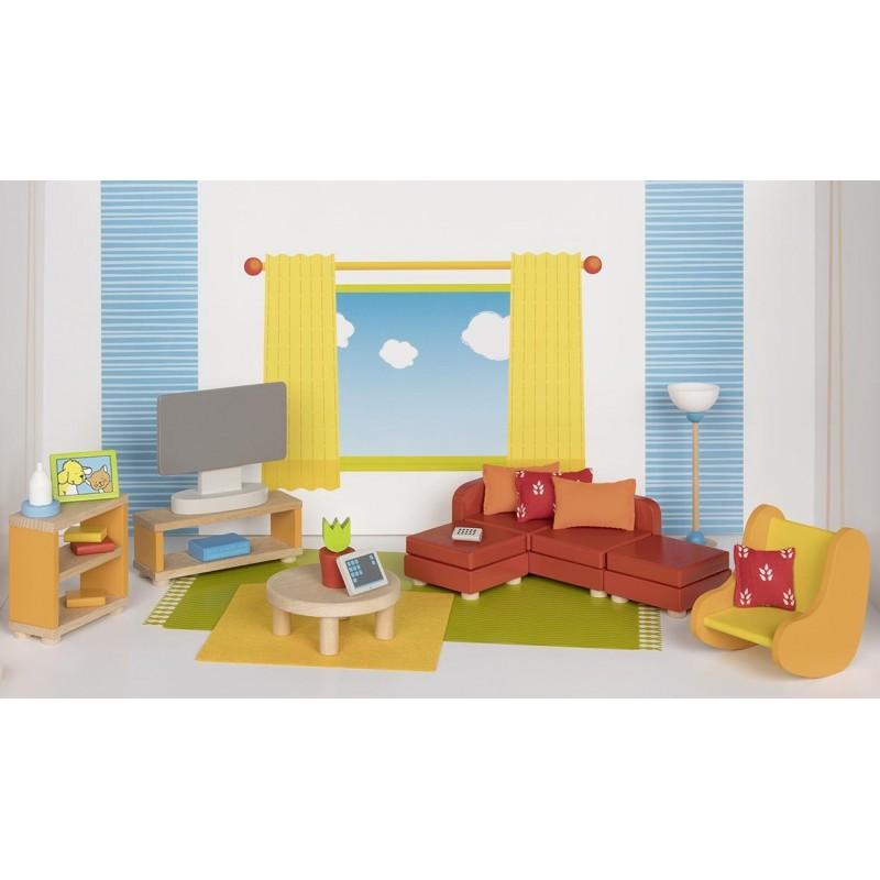 Meubles de poupées, séjour - accessoires pour maison de poupées à prix de gros
