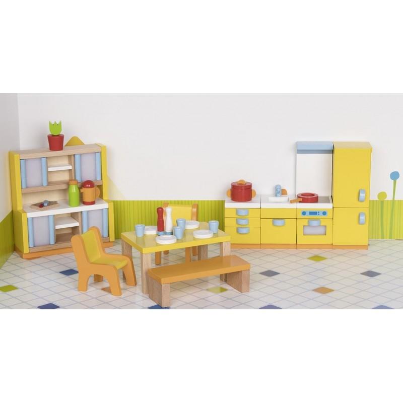 Meubles de poupées, cuisine - accessoires de poupées à prix grossiste
