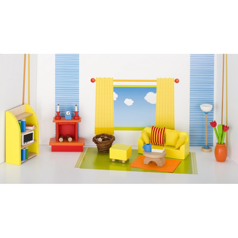 Meubles de poupées, séjour à prix grossiste - accessoires de poupées à prix de gros