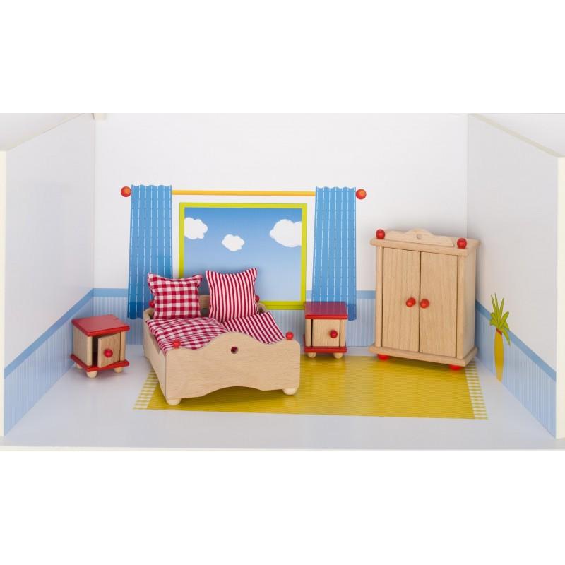 Meubles de poupées, chambre à coucher - accessoires de poupées à prix grossiste