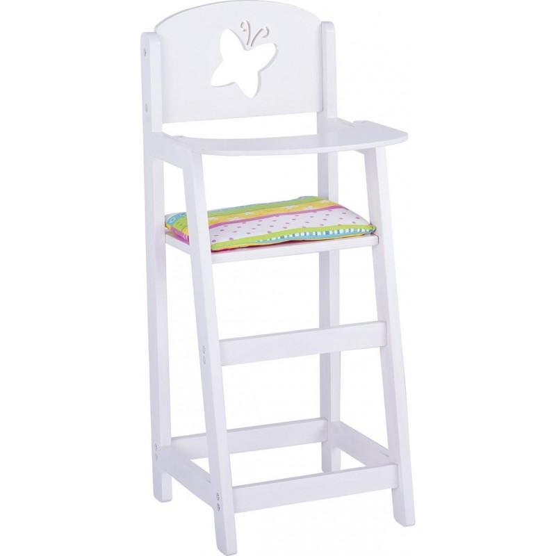 Chaise haute pour poupée, Susibelle à prix grossiste - accessoires de poupées à prix de gros