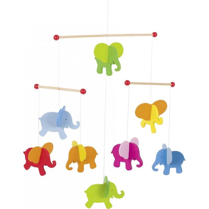 Mobile, éléphants - mobile bébé à prix de gros
