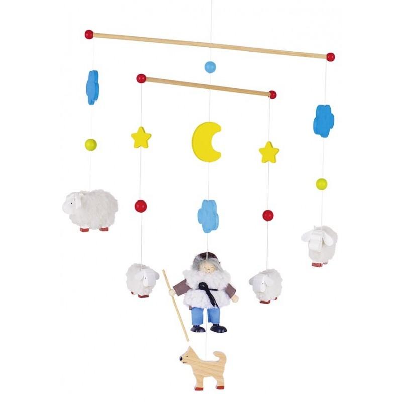 Mobile Berger et ses moutons à prix grossiste - mobile bébé à prix de gros