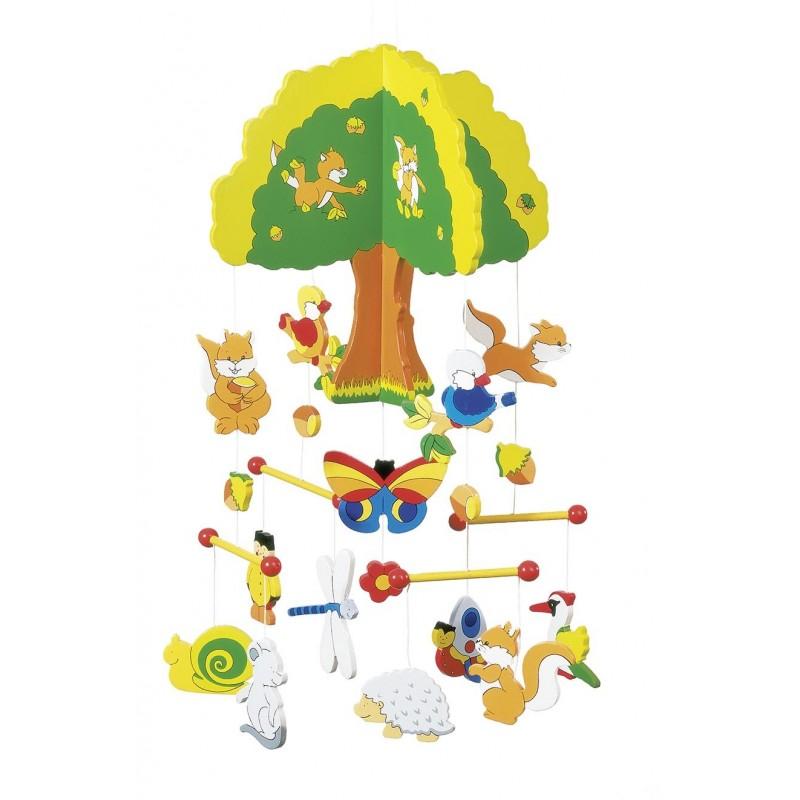 Maison dans l'arbre, mobile à prix grossiste - mobile bébé à prix de gros