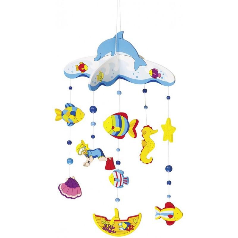 Vie sous-marine, mobile - mobile bébé à prix de gros