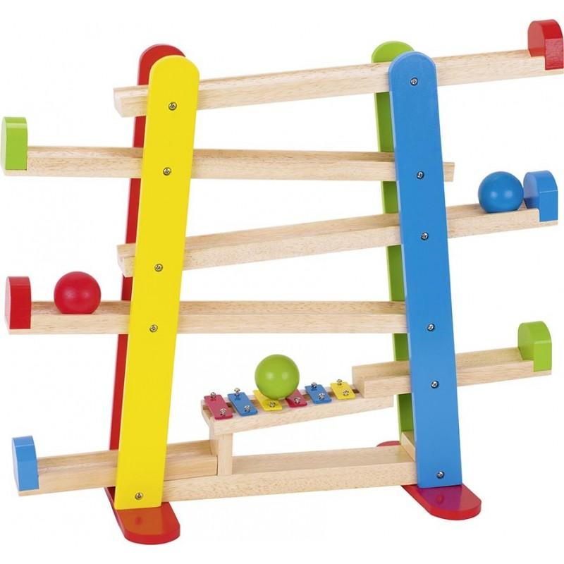 Toboggan des boules avec xylophone - xylophone à prix de gros