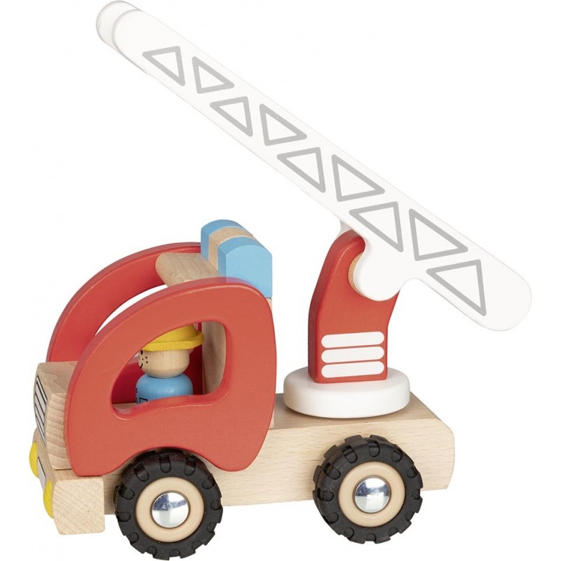 Camion de pompiers avec échelle à prix grossiste - Voiture miniature à prix de gros