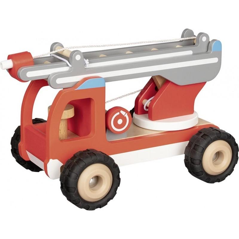 Camion de pompiers avec échelle - Voiture miniature à prix grossiste
