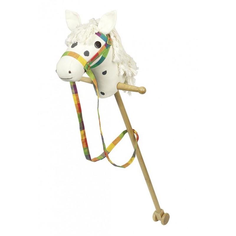 Cheval blanc à bâton - cheval à bâton à prix de gros