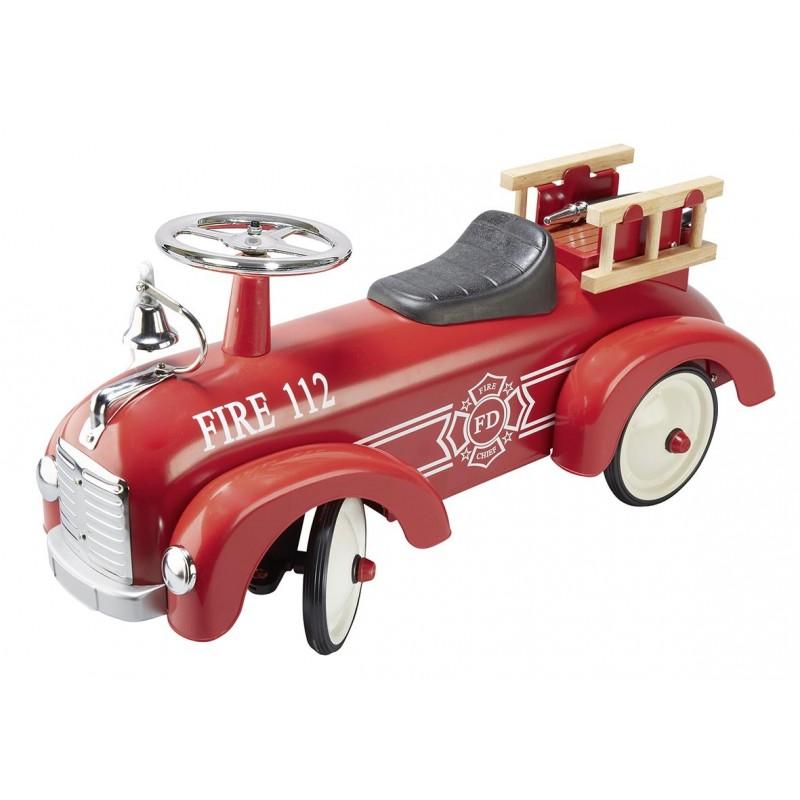 Porteur pompiers - voiture à pédales à prix de gros
