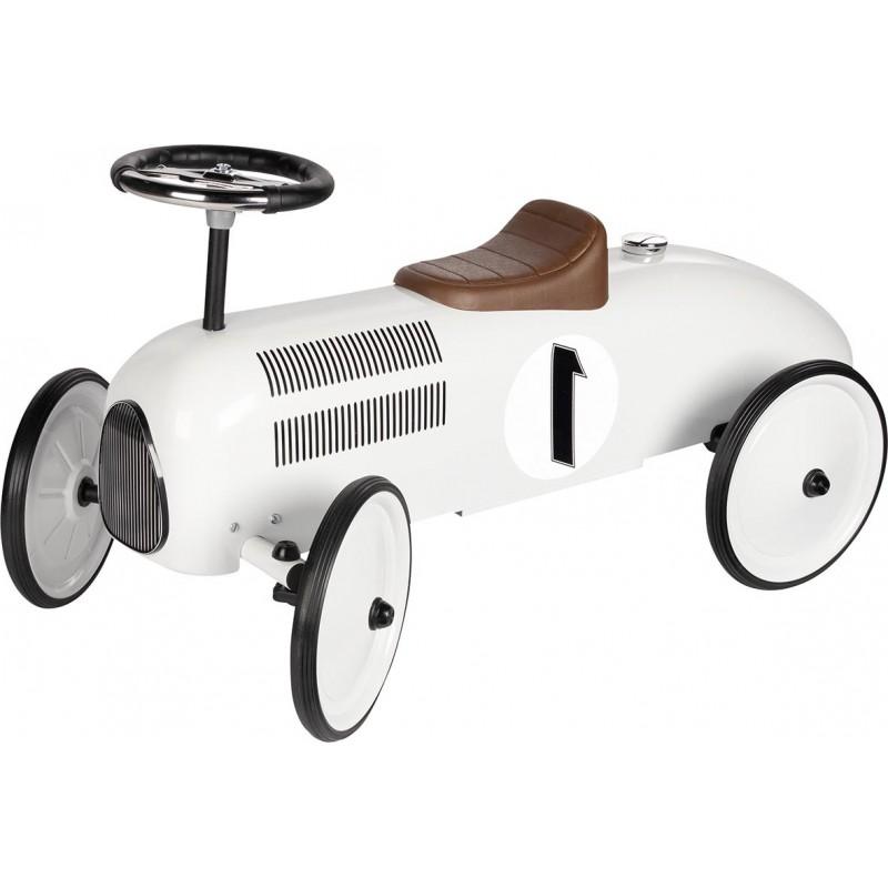 Porteur blanc - voiture à pédales à prix grossiste