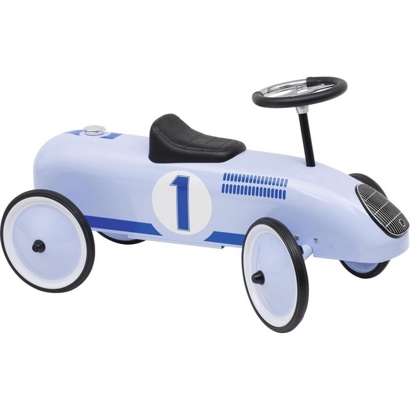 Porteur bleu à prix grossiste - voiture à pédales à prix de gros
