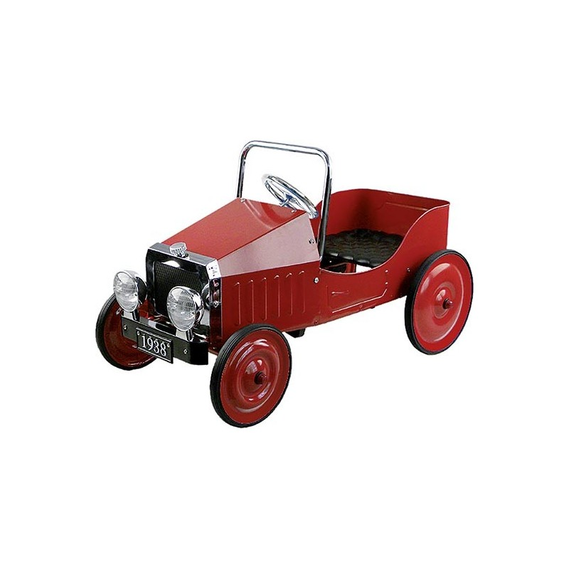 Voiture rouge à pédales 1938  - voiture à pédales à prix grossiste