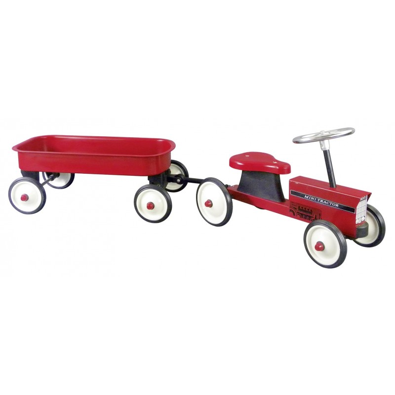 Porteur, tracteur avec remorque à prix grossiste - voiture à pédales à prix de gros