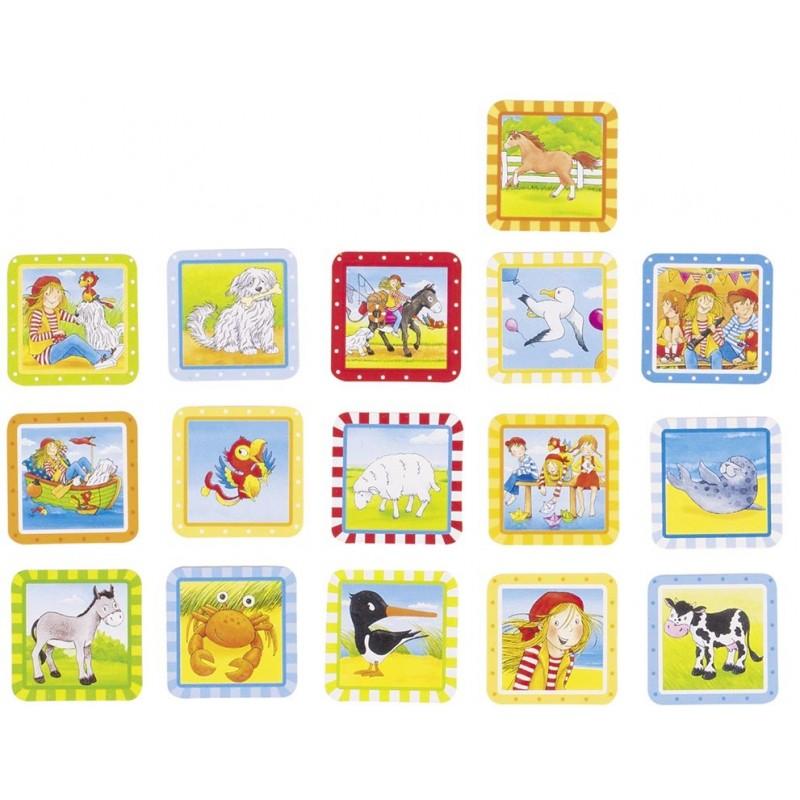 Mini Memo, Peggy Diggledey - jeu de mémo à prix de gros