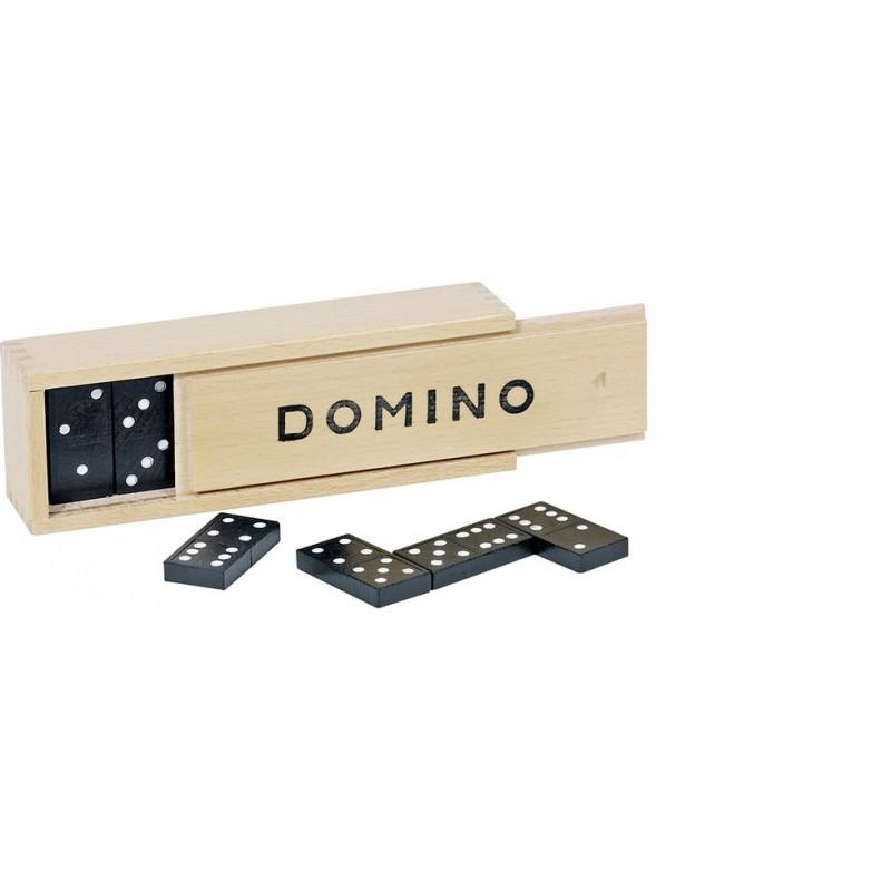 Jeu de dominos, boîte en bois - Jeu de domino à prix de gros