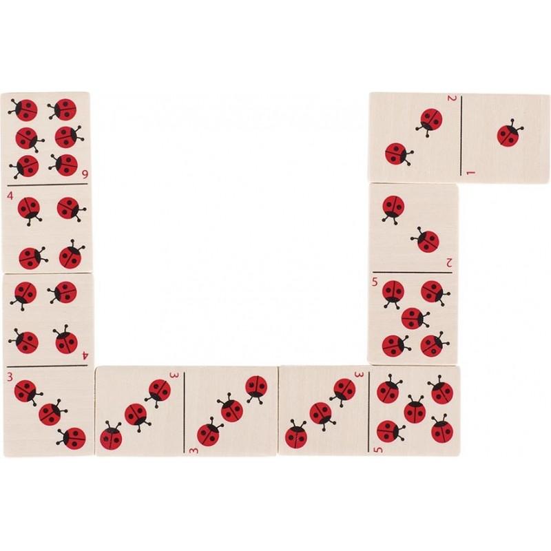 Jeu de dominos Coccinelles à prix de gros - Jeu de domino à prix grossiste