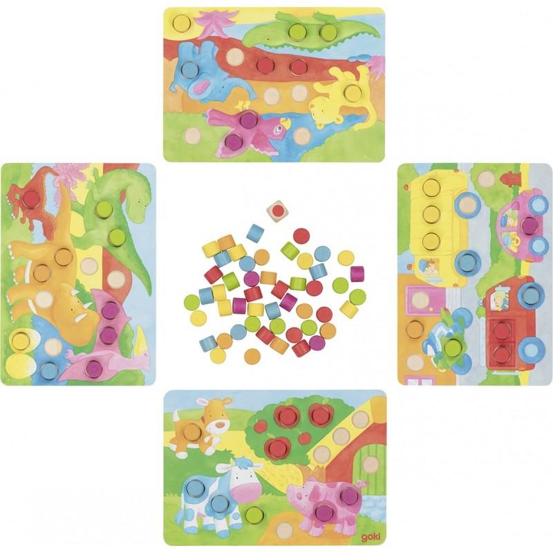 Loto de couleurs II - jeu de mémo à prix de gros