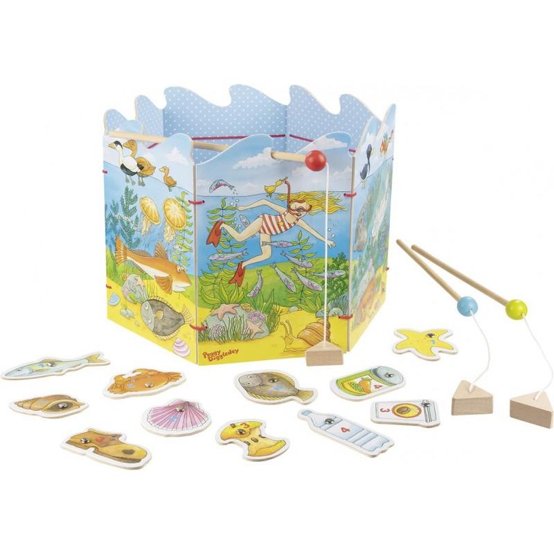 Le jeu de pêche pour préserver l'environnement, Peggy - pêche à la ligne à prix grossiste