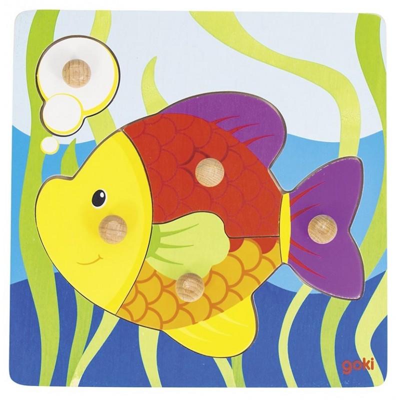 Puzzle poisson à prix de gros - Puzzle à prix grossiste