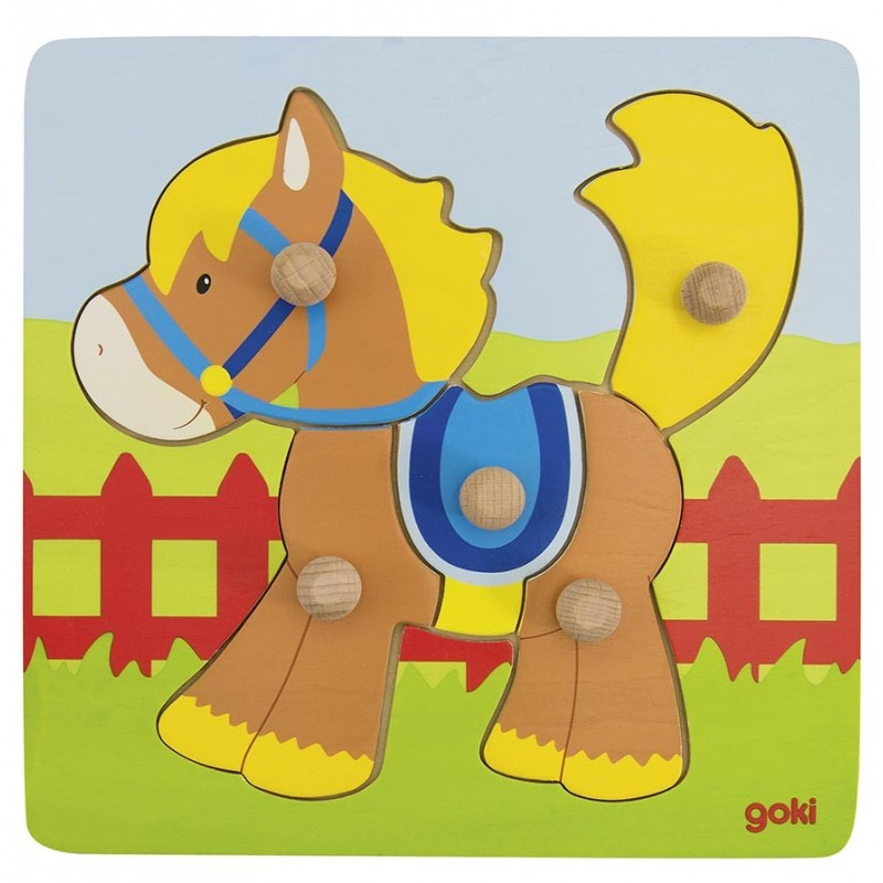 Puzzle cheval - puzzle en bois à prix de gros