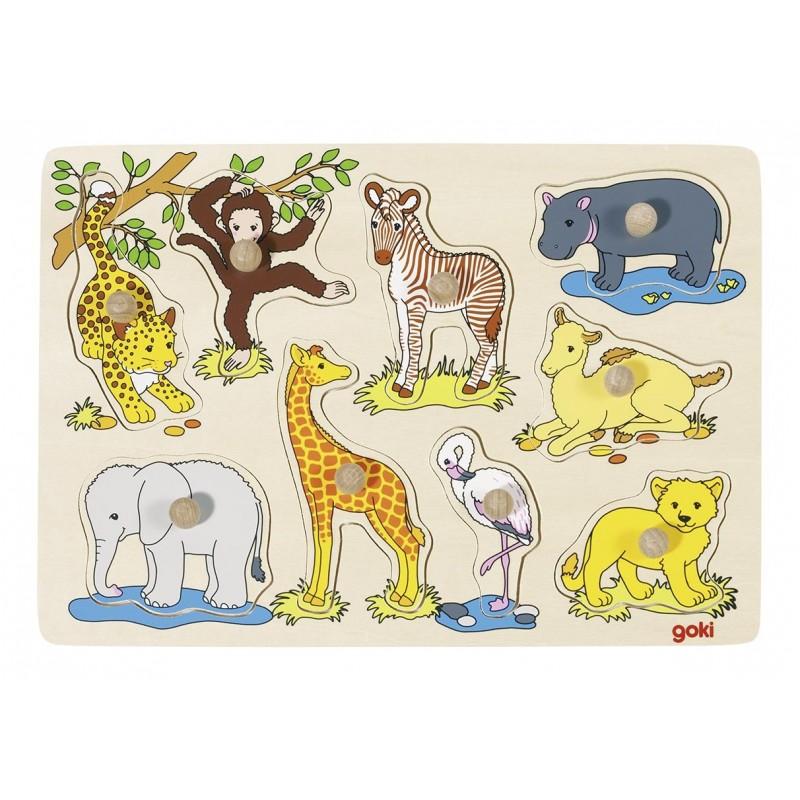 Puzzle, Bébés animaux d'Afrique à prix grossiste - Puzzle à prix de gros