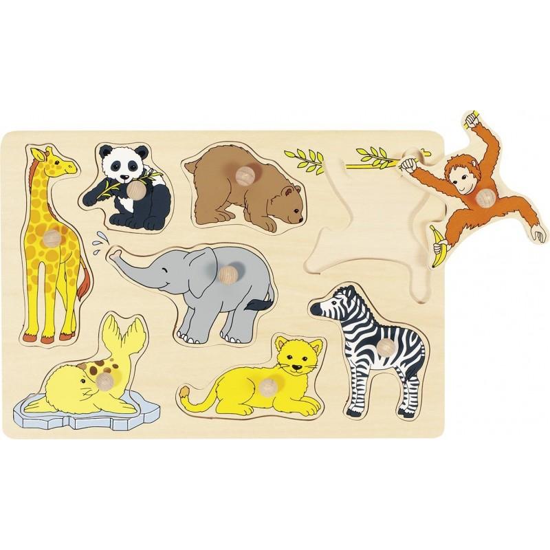 Bébés animaux, puzzle à encastrements - Puzzle à prix grossiste