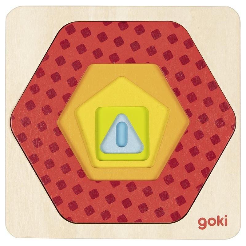 Puzzle à couches, formes II - puzzle à couches à prix de gros
