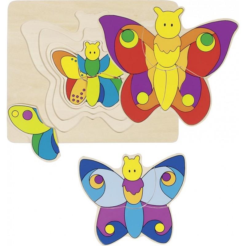 Papillon, puzzle à prix de gros - puzzle en bois à prix grossiste