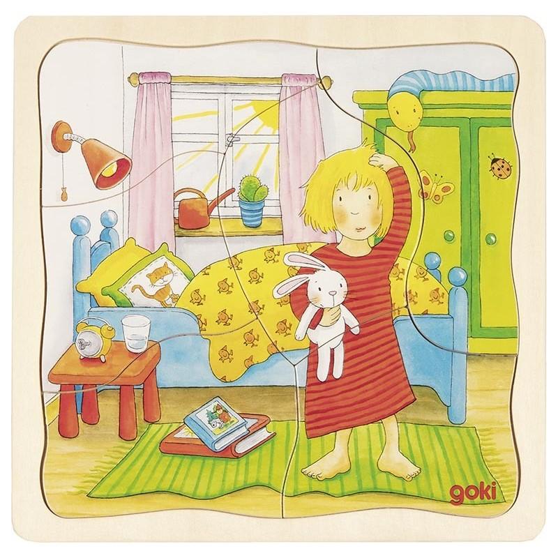Puzzle à couches Ma journée à prix de gros - puzzle à couches à prix grossiste