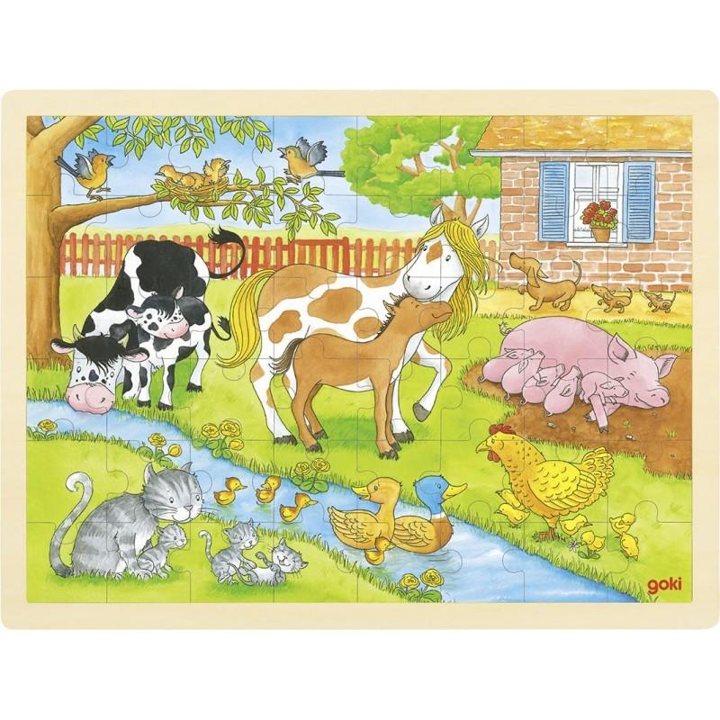 Puzzle Vie à la ferme à prix de gros - puzzle en bois à prix grossiste