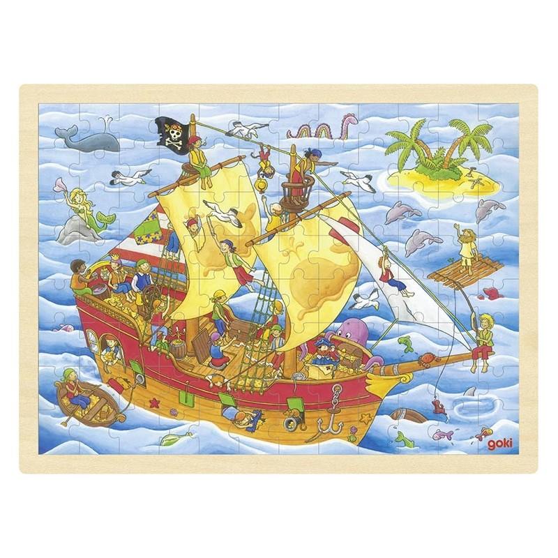 Puzzle Pirates à prix grossiste - puzzle en bois à prix de gros