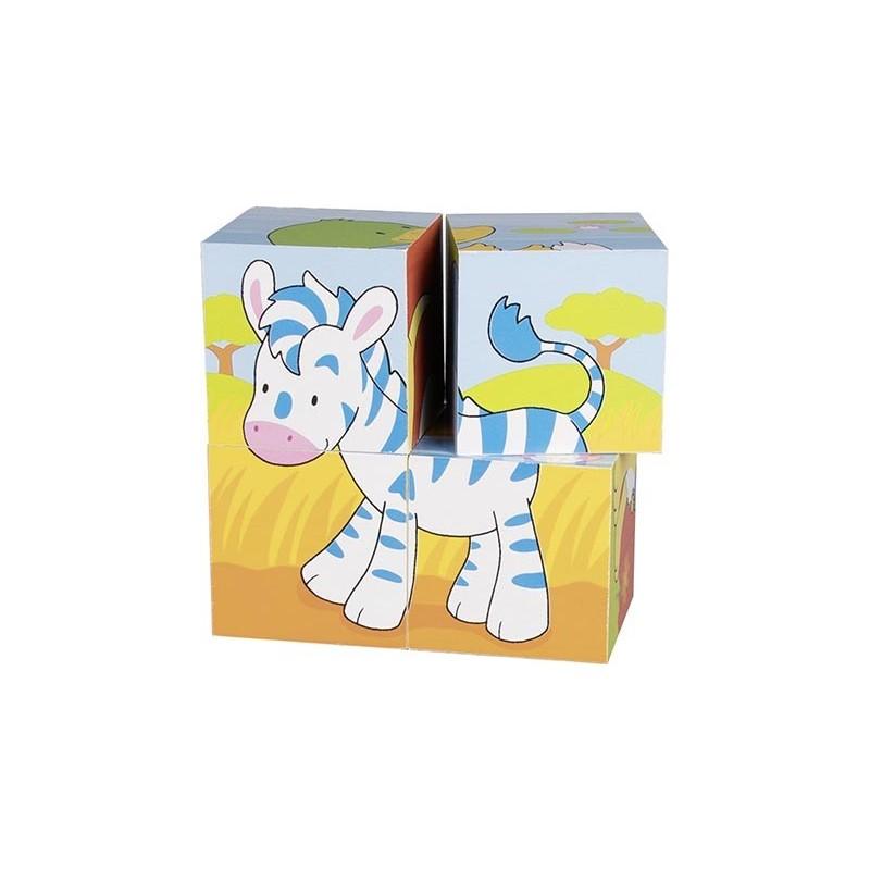 Puzzle de cubes animaux - puzzle cube à prix de gros