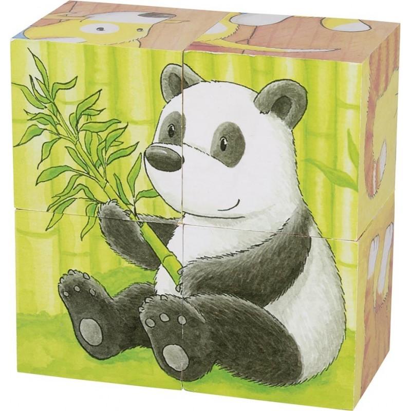 Puzzle de cubes, bébés animaux II - puzzle cube à prix grossiste