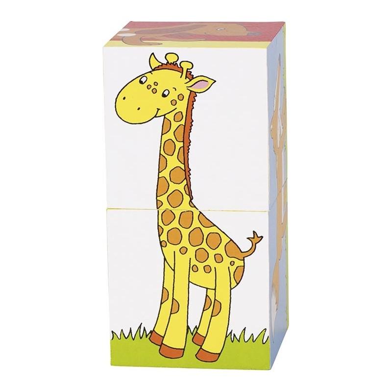 Puzzle de cubes, animaux à prix grossiste - puzzle cube à prix de gros