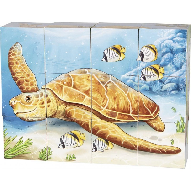 Puzzle de cubes, animaux australiens à prix de gros - puzzle cube à prix grossiste