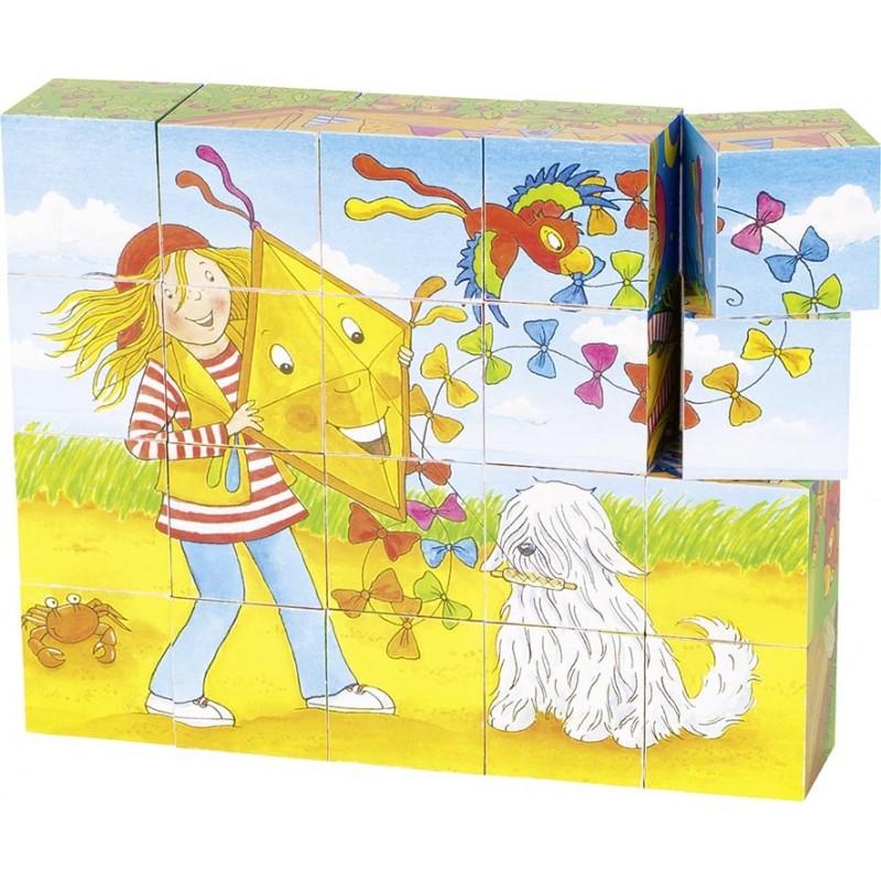 Puzzle de cubes, Peggy Diggledey à prix grossiste - puzzle cube à prix de gros