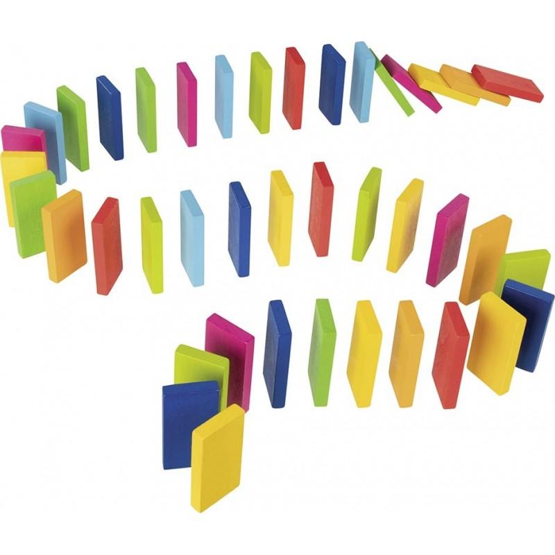 Rallye des dominos Arc-en-ciel - Jeu de domino à prix grossiste