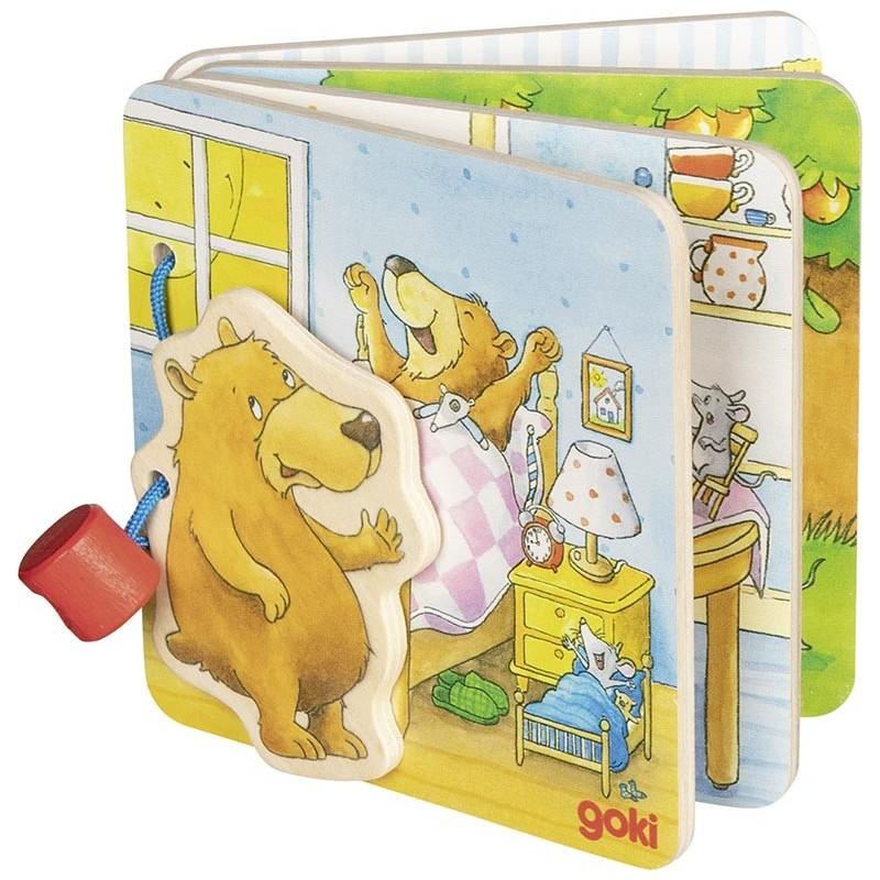 Livre d'images, le petit ours - livre pour enfants à prix de gros