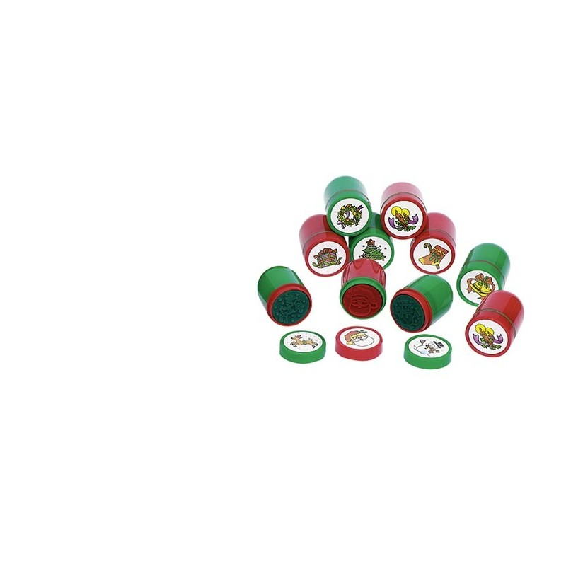 Tampons encreurs Noël à prix grossiste - tampon encreur à prix de gros