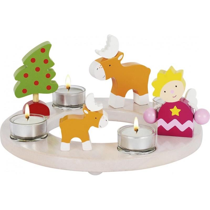Couronne de bougies pour Pâques et Noël - Bougie à prix de gros