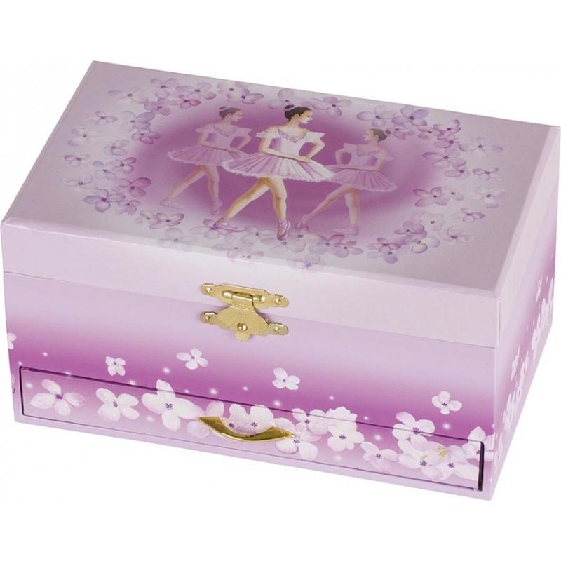 Boîte à musique, Ballerine VI avec tiroir - boîte à musique à prix grossiste